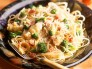Cauliflower and Broccoli Pasta with Mustard Sauce