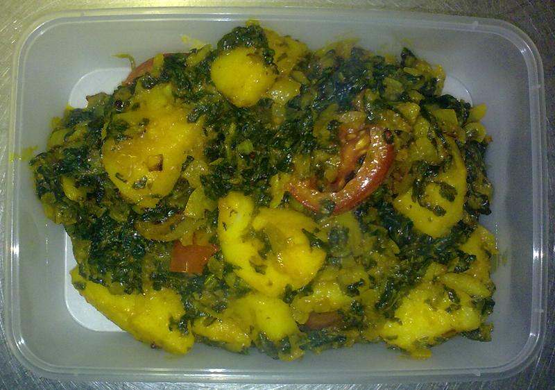 Chicken and Cauliflower Bhaji
